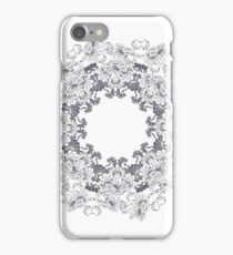Floral Tracery of Bragança iPhone Case/Skin