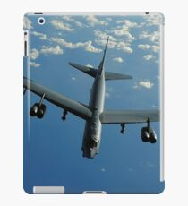 A U.S. Air Force B-52 Stratofortress flies a mission over the Pacific Ocean. iPad Case/Skin