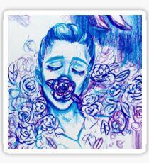 Blue Hanahaki disease  Sticker