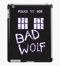 Doctor Who : BAD WOLF iPad Case/Skin