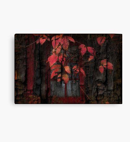 Textured Vine Canvas Print