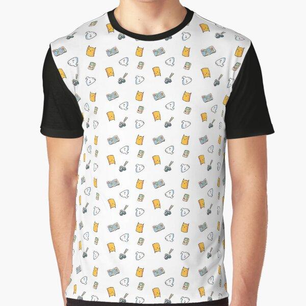 Infinite Cat and Meringue Graphic T-Shirt
