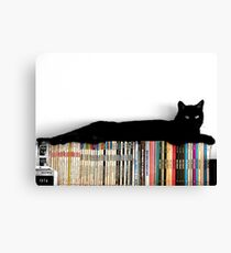Lounging on science fiction Canvas Print