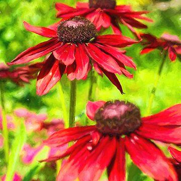 Among The Flowers by JoeGeraci