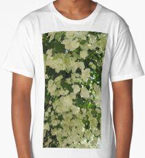 bougainvillaea white troical flower Long T-Shirt