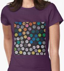 Polka Dot Sketch Pattern Colour T-Shirt