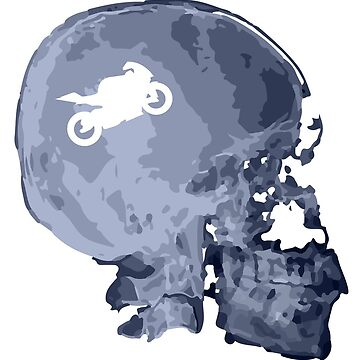 X-ray motorcycle skull by muli84