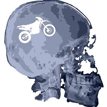 X-ray enduro skull by muli84