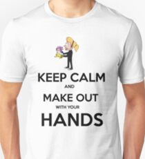 Keep Calm and Make Out With Your Hands T-Shirt