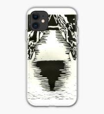 Linoleum Portrait iPhone Case