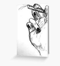 cigarette Greeting Card