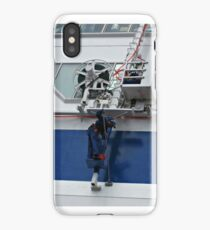 Getting the ship in shape iPhone Case/Skin