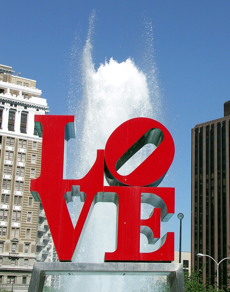 LOVE in Philadelphia by Marilyn Jones