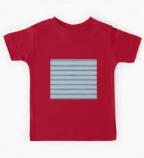 Cobalt blue french striped Kids Tee