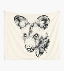 African Wild Dog | African Wildlife Wall Tapestry