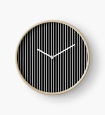 Stripes Clock