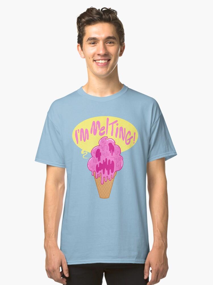 Alternate view of I'M MELTING! Classic T-Shirt