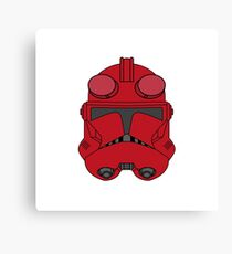 HellBoy Trooper Canvas Print
