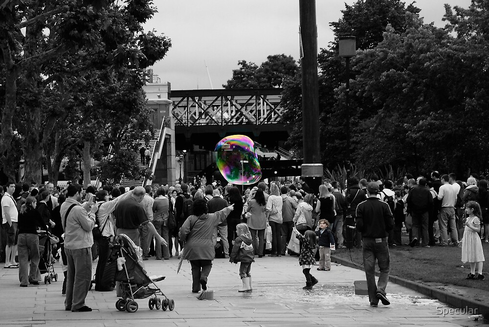 Bubble boy  1 by Specular