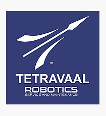 Tetravaal Robotics : Inspired by Chappie Photographic Print