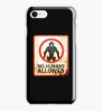 No Humans Allowed : Inspired by District 9 iPhone Case/Skin