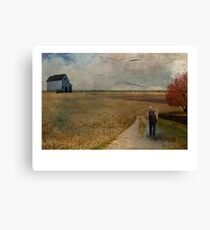 A place to rest my head Canvas Print
