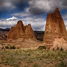 Cathedral valley by Kathy Weaver