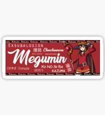 Megumin Car Club Sticker