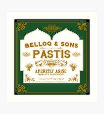 Belloq & Sons : Inspired by Indian Jones and The Raiders of the Lost Ark Art Print