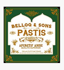 Belloq & Sons : Inspired by Indian Jones and The Raiders of the Lost Ark Photographic Print