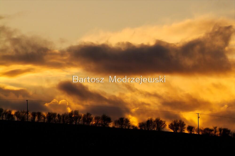 Sunset in Ennis  by Bartosz  Modrzejewski