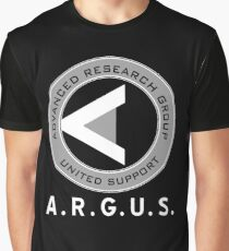 ARGUS : Inspired by Arrow Graphic T-Shirt