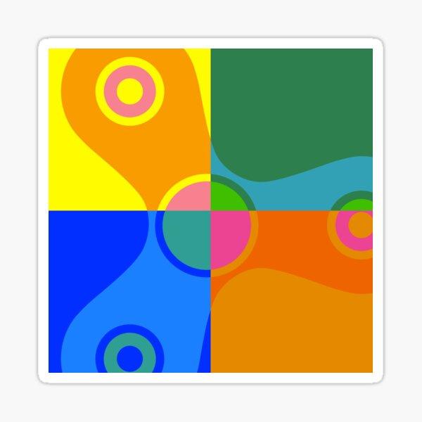 Fidget Spinner - Pop Art Sticker