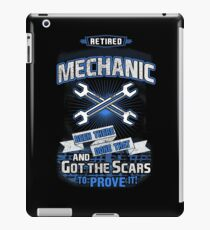 RETIRED MECHANIC iPad Case/Skin