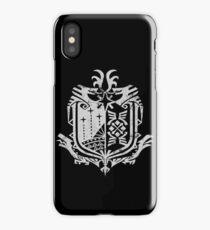 MonsterHunterW iPhone Case