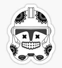 SugarSkull Trooper Sticker