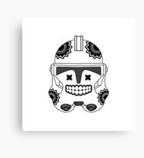 SugarSkull Trooper Canvas Print