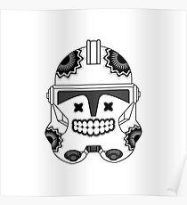 SugarSkull Trooper Poster
