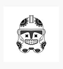 SugarSkull Trooper Photographic Print