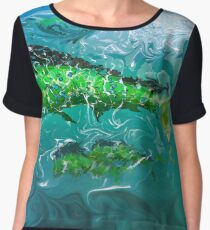 Mahi Mahi Women's Chiffon Top