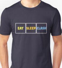 Eat Sleep Clash Funny Gift Unisex T-Shirt