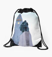 Hallgrimskirkja, Iceland  Drawstring Bag