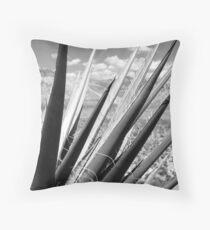 Red Rock Yucca Throw Pillow