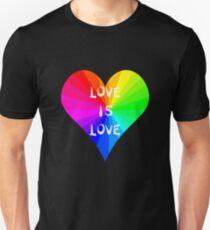 LGBTQ Pride Month - Rainbow Love is Love 2017 Unisex T-Shirt