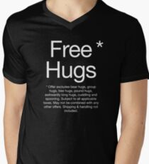 Camiseta para hombre de cuello en v Abrazos gratis*