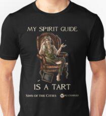 My Spirit Guide is a Tart for dark Ts Unisex T-Shirt