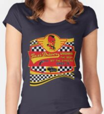 Taxi driver cult movie t shirt Women's Fitted Scoop T-Shirt