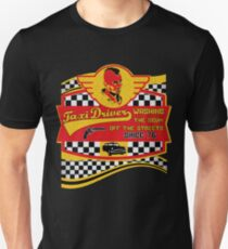 Taxi driver cult movie t shirt Unisex T-Shirt