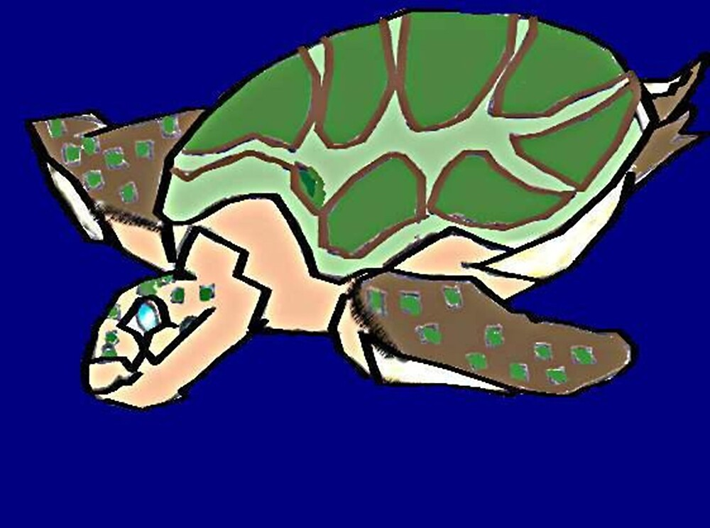 Sea Turtle  by ernst