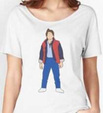 Marty McFly, Back to the Future Women's Relaxed Fit T-Shirt